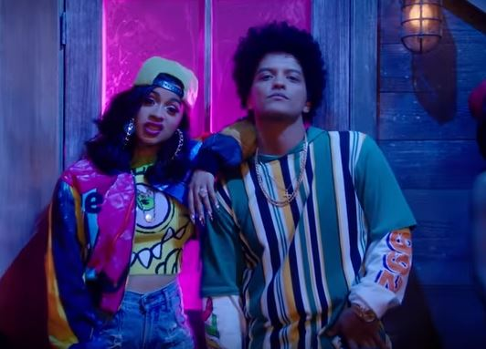 Bruno Mars and Cardi B drop 90s themed Finesse video and it could be the sound of 2018 already
