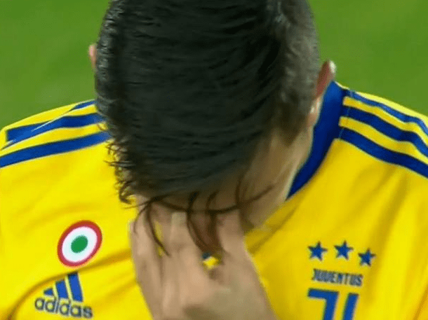 Manchester United target Paulo Dybala avoids serious injury despite leaving pitch in tears
