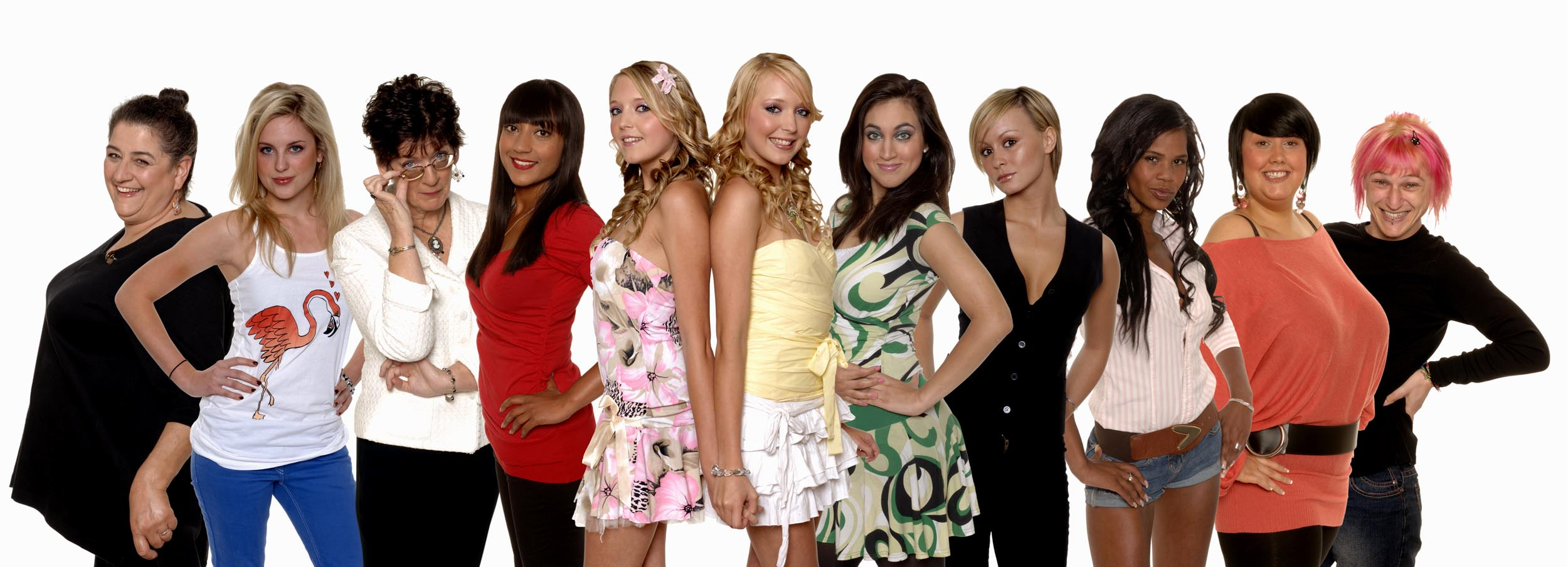 Celebrity Big Brother's all-female line-up isn't the first in its series history – remember 2007?