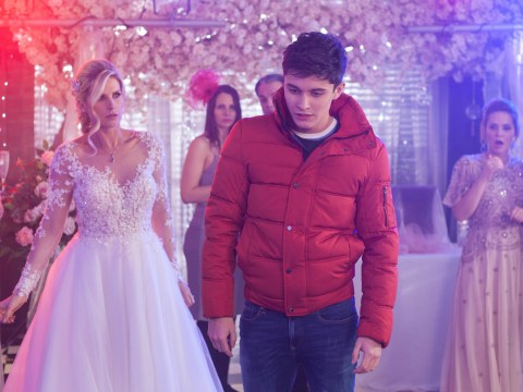 Hollyoaks spoilers: Luke Morgan's son Oliver gatecrashes his wedding day and reveals everything