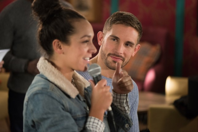 Cleo and Brody get closer in Hollyoaks