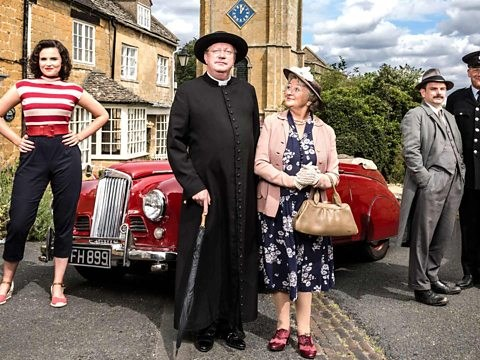 When is Father Brown set and where is it filmed?