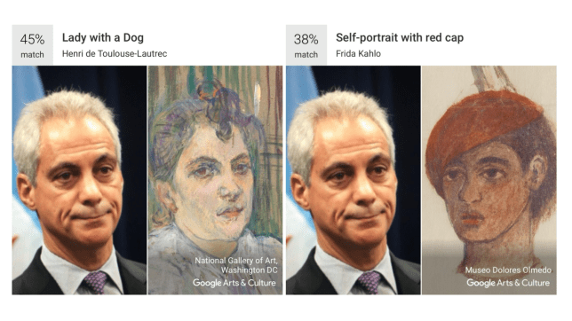 Google's Arts & Culture app has soared to the top of the download charts (Picture: Getty/Google)