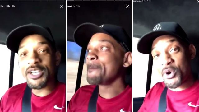 Will Smith is our new life coach thanks to his inspiring words on Instagram: 'Fail early and fail often'
