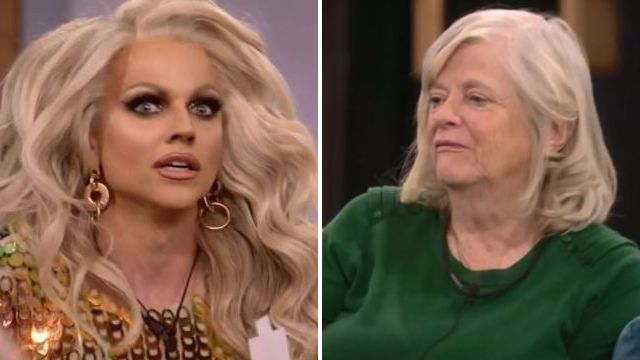 courtney act and ann on celebrity big brother