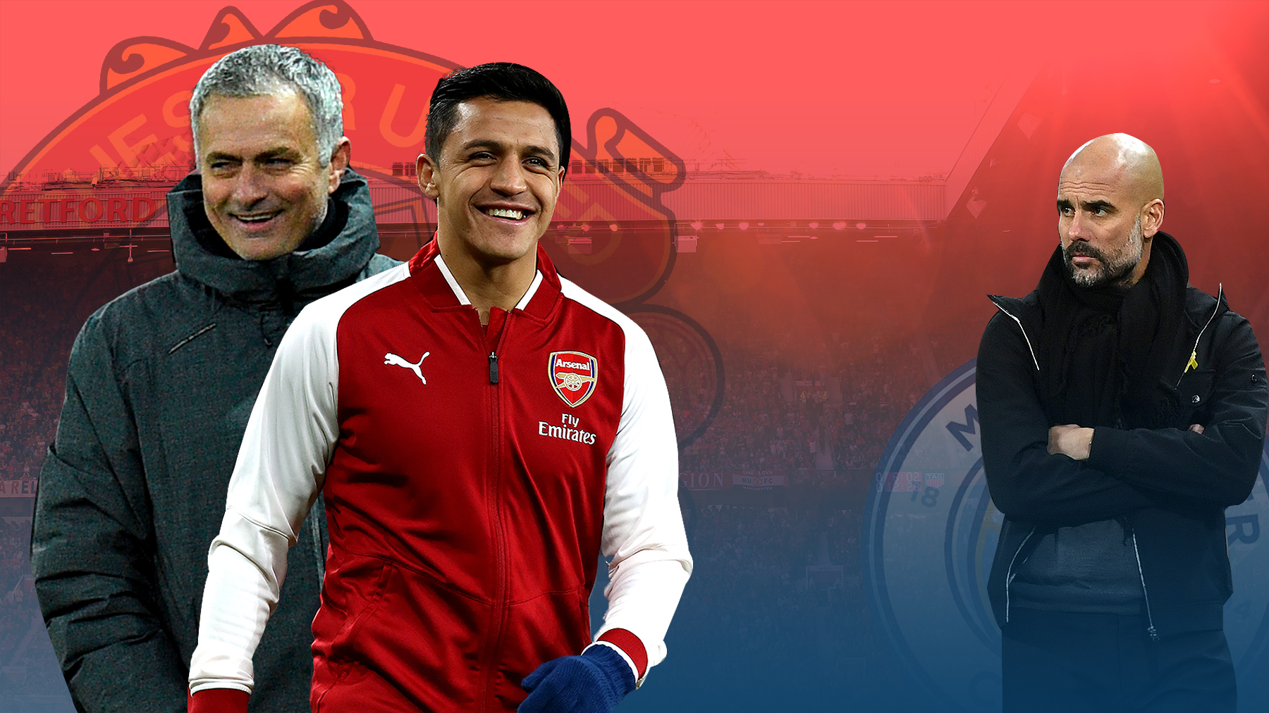 Why Jose Mourinho, not Pep Guardiola, is the perfect manager for Alexis Sanchez