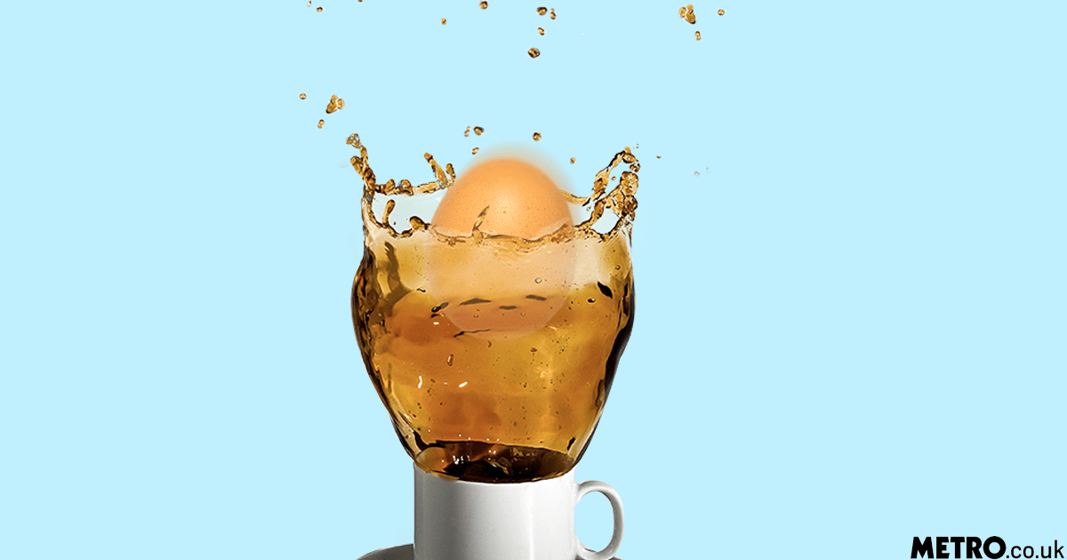 SHOULD YOU DROP A RAW EGG INTO YOUR COFFEE? picture: Getty/metro.co.uk