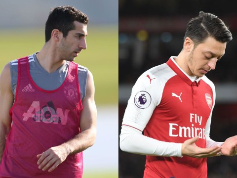 Emmanuel Petit warns Arsenal that Henrikh Mkhitaryan shares poor trait with Mesut Ozil