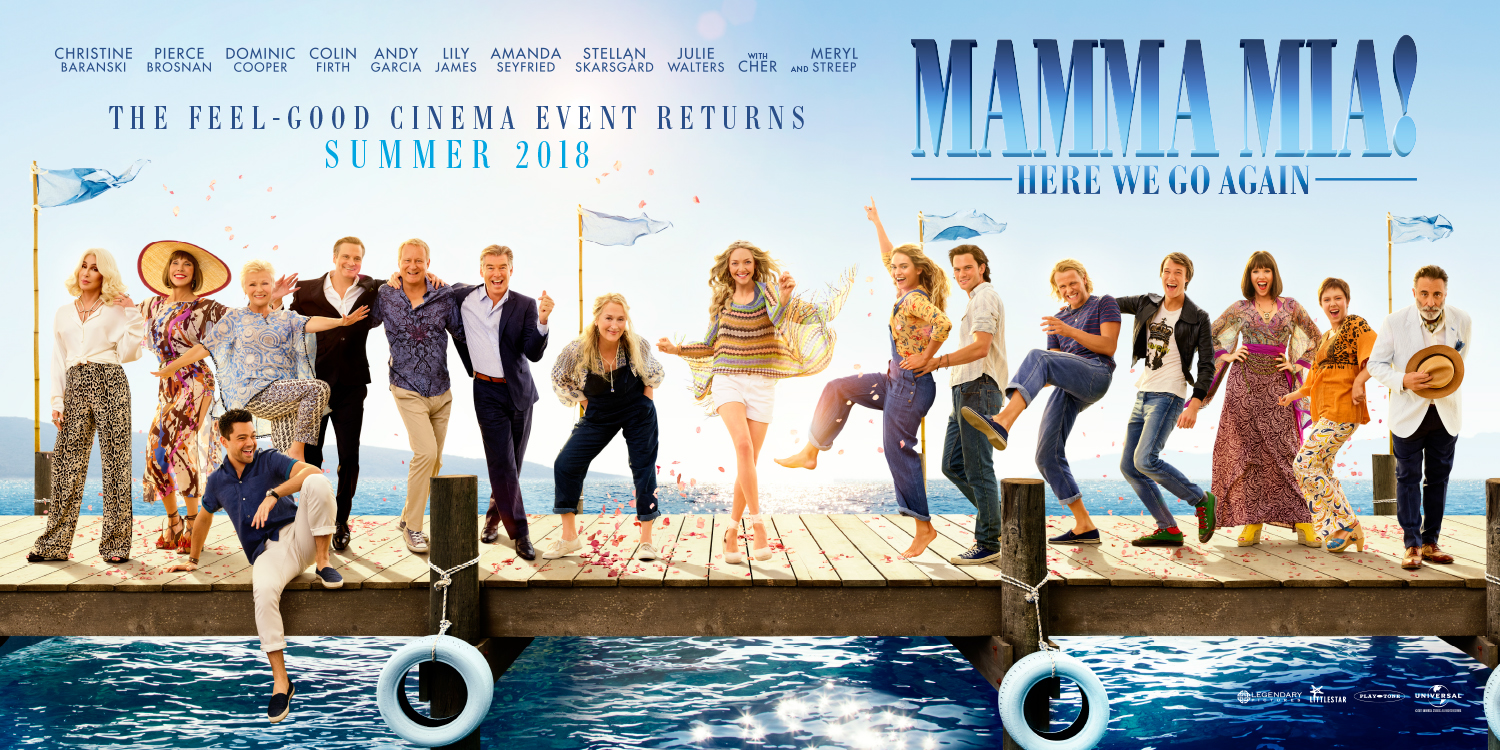 Mamma Mia 2 DVD release date UK, cast, songs, filming location and trailer