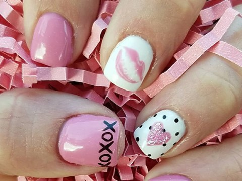 24 perfect nail designs for your Valentine's date night
