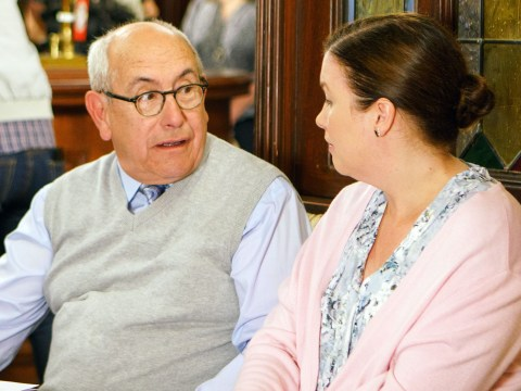 Coronation Street legend Malcolm Hebden aka Norris Cole is the victim of a false death story