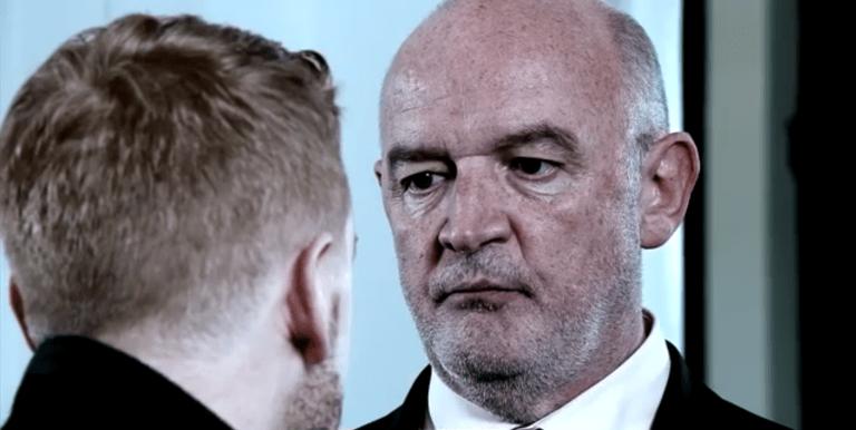 Gary threatens Phelan in Coronation Street