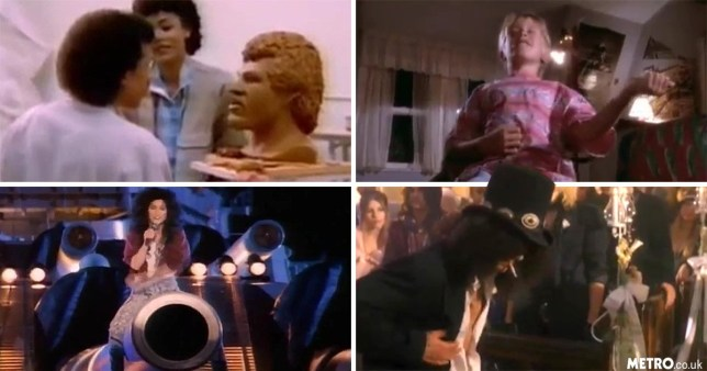 most ridiculous moments in music video history
