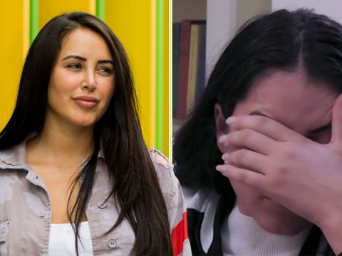 Brave Marnie Simpson breaks down as she relives hitting rock bottom at 17 with suicidal thoughts