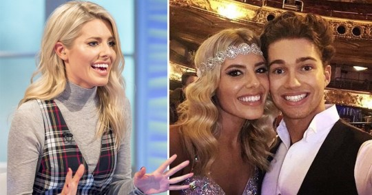 Mollie King has a word of warning for Dancing On Ice contestants over romance rumours