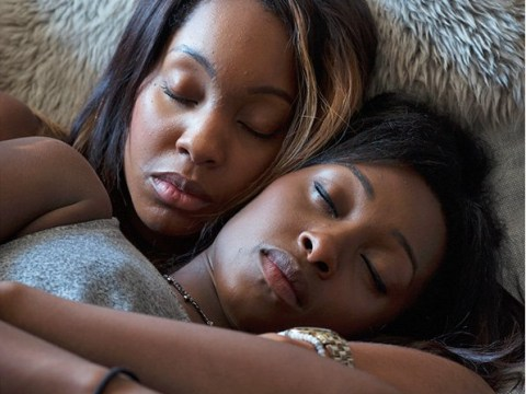Candid photographs show the intimate and unique bonding between sisters