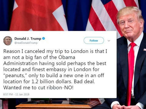 Donald Trump confirms visit to UK is cancelled amid fears of protests
