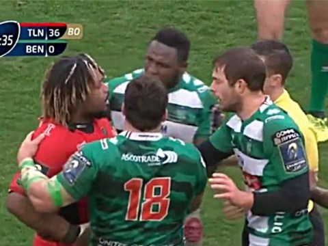 Rugby player calls opponent 'f**king f*ggot' in middle of game