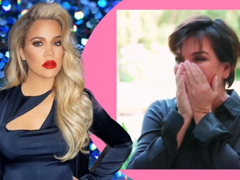 The Kardashian family reaction as Khloe reveals pregnancy is priceless