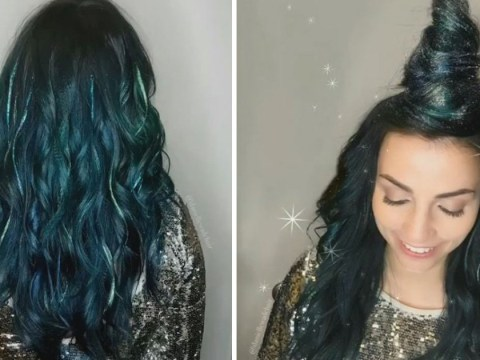 Glitterage is the new hair trend you'll be seeing everywhere this festival season