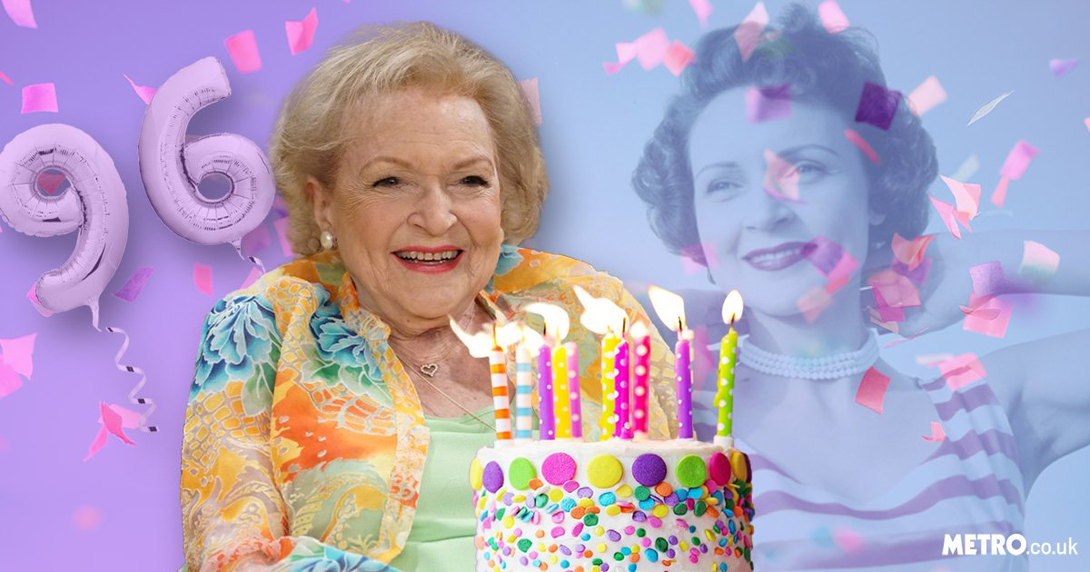 Hold the phone – Betty White is 96 today?