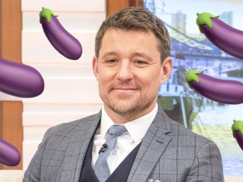 Ben Shephard totally misunderstood the aubergine emoji and it's giving viewers life