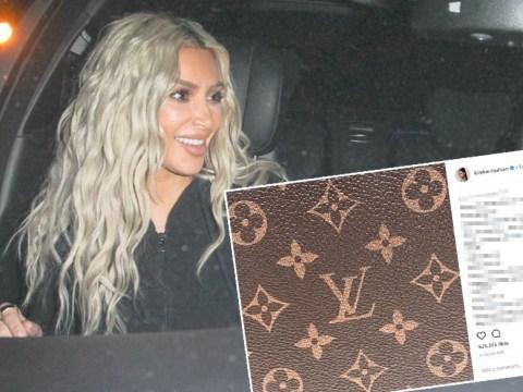 No, Kim Kardashian isn't naming her baby after Louis Vuitton