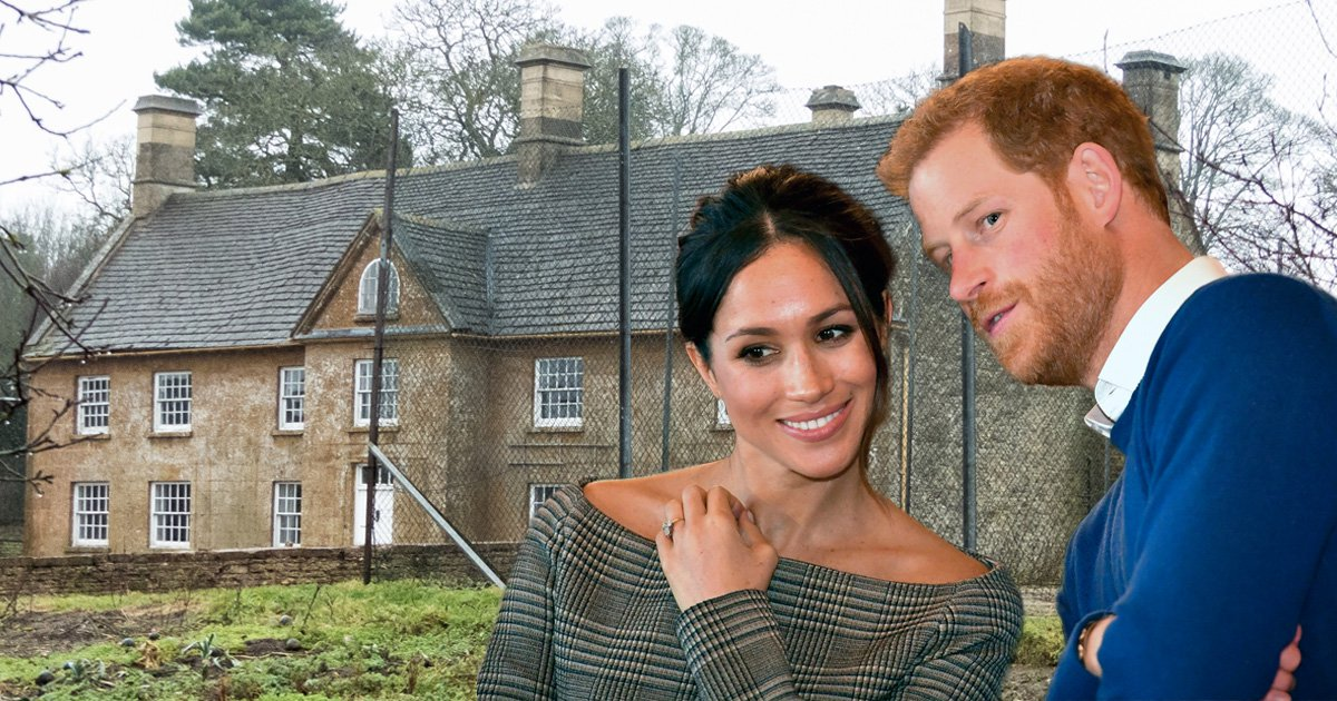 b138cb06dc619 Prince Harry and Meghan Markle might be buying Cotswold farmhouse ...