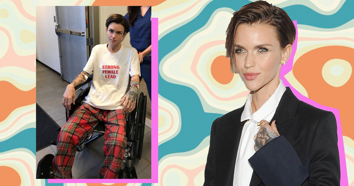 Pitch Perfect's Ruby Rose assures worried fans she is 'fine' as she poses in wheelchair post spinal surgery