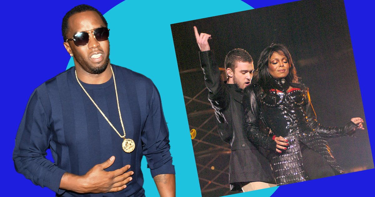 P Diddy is annoyed nobody knows he performed at Janet Jackson and Justin Timberlake's Super Bowl