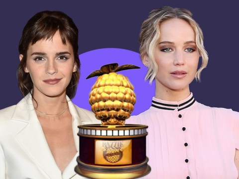 Emma Watson and Jennifer Lawrence up for Worst Actress at the 2018 Razzies