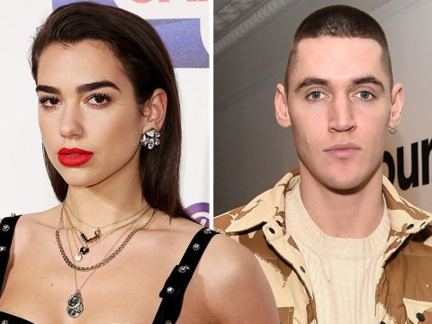 Dua Lipa has already forgotten step one of her New Rules as she 'texts model ex Isaac Crew'