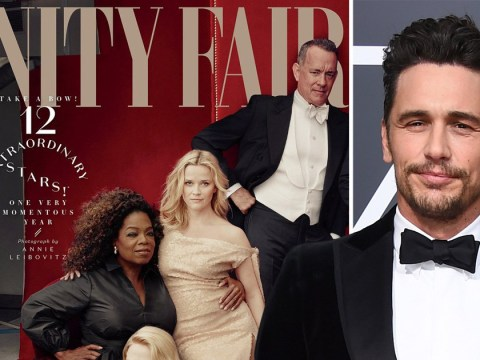 James Franco 'hurt' over being photoshopped from Vanity Fair cover following allegations of sexual misconduct