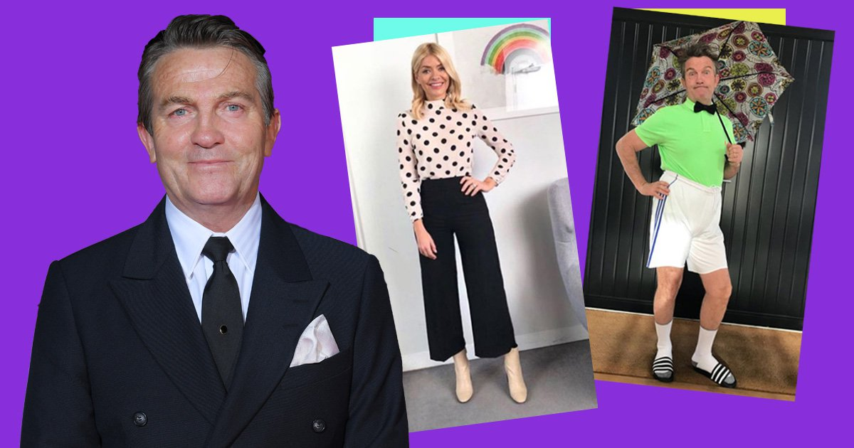 Bradley Walsh 'does a Holly Willoughby' in cheeky Instagram post
