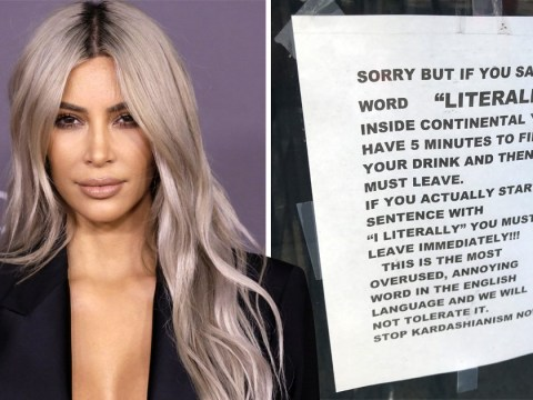 Acting like a Kardashian will get you kicked out of this New York bar