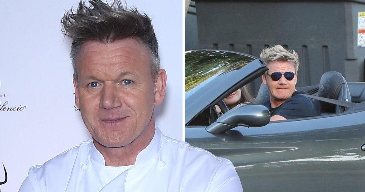 Gordon Ramsay is Gordon Ramsay as he admits to dodging speeding tickets with wild trick