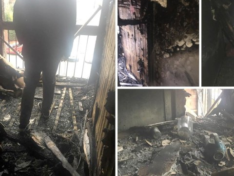 What happens when your home burns down