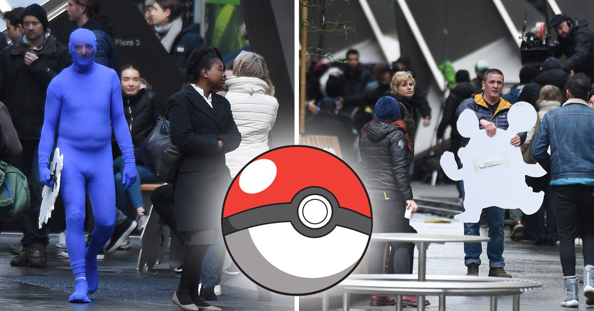 Loudred and Treecko spotted on Pokemon movie set but where's Ryan Reynolds?