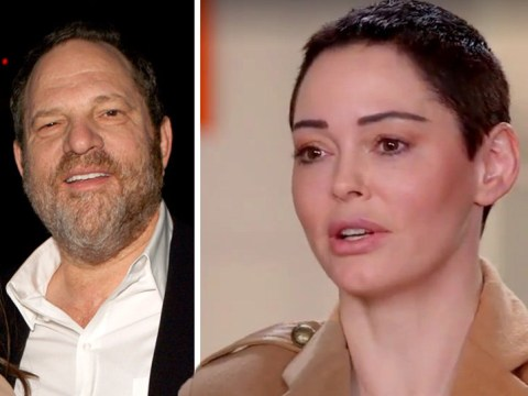 Rose McGowan calls Harvey Weinstein's hotel rooms 'international rape factories'