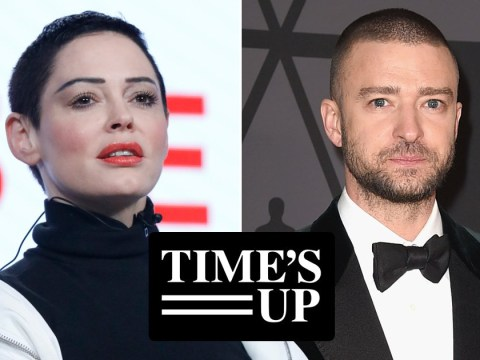 Rose McGowan slams 'fake' Justin Timberlake for Time's Up support