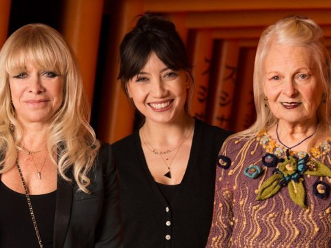 Daisy Lowe, Jo Wood and Vivienne Westwood go green as they support rainforest charity