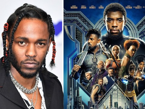 Kendrick Lamar just dropped the track listing for the Black Panther soundtrack and it's lit