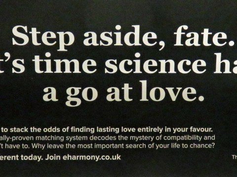 eHarmony ad banned for claiming to use 'scientifically proven system'