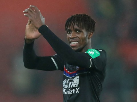 Roy Hodgson happy to see Arsenal and Chelsea target Wilfried Zaha linked with Liverpool transfer