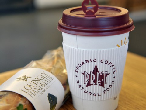 Pret A Manger to offer 50p discount on hot drinks if you use a reusable cup