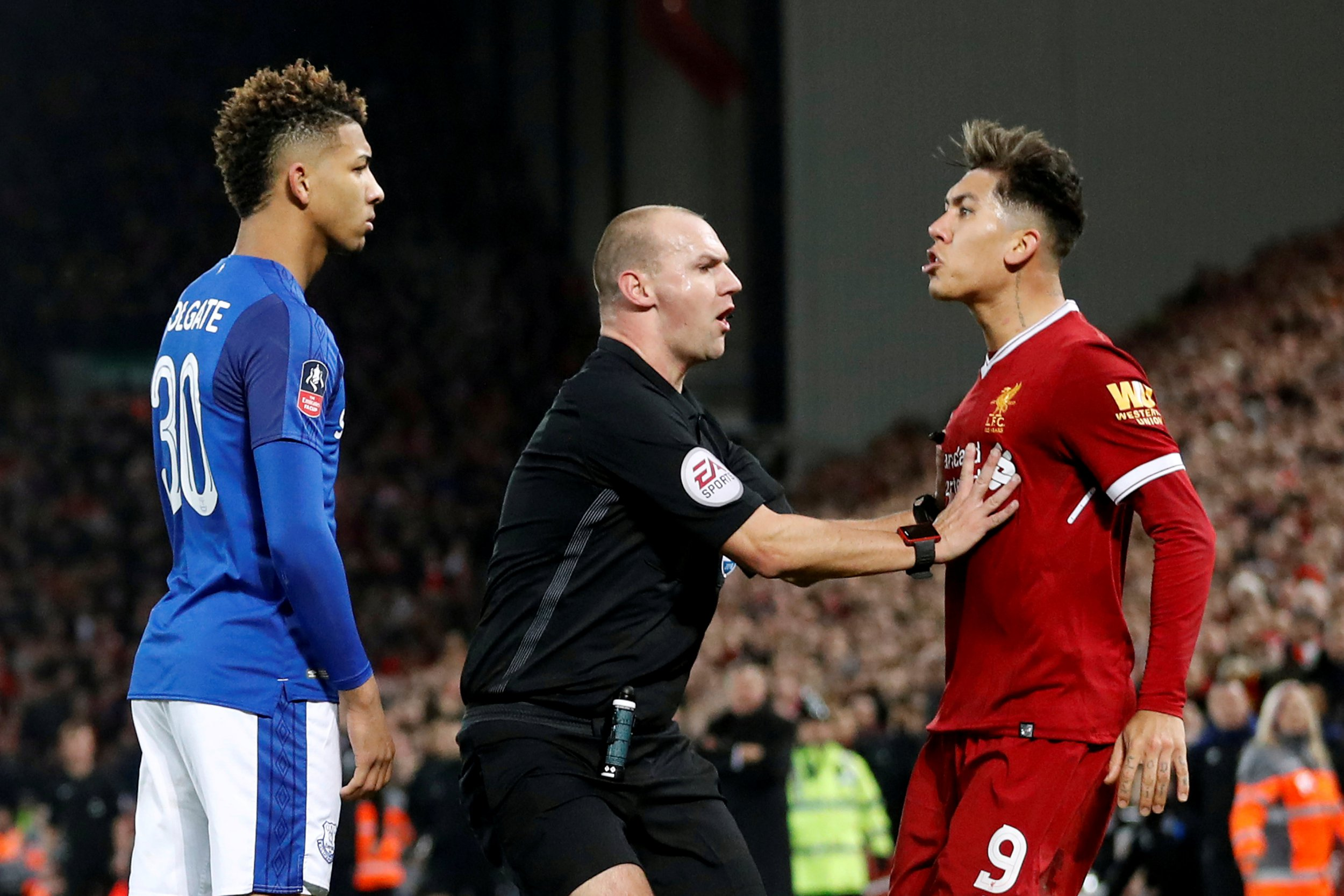 Roberto Firmino speaks out after FA clear Liverpool forward of racially abusing Mason Holgate