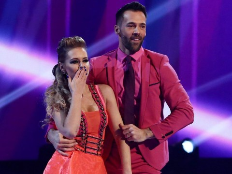 Jennifer Metcalfe sends message of support to ex Sylvain Longchambon for Dancing On Ice