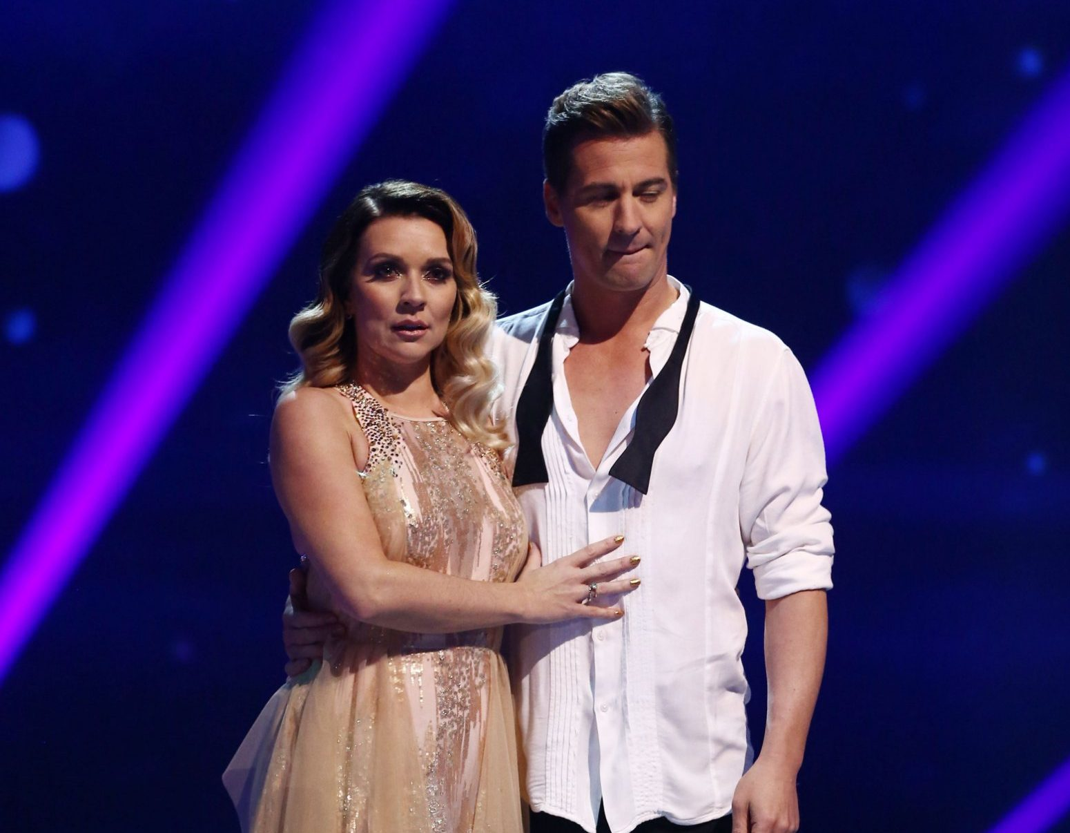Candice Brown lands in the first skate-off of Dancing On Ice 2018
