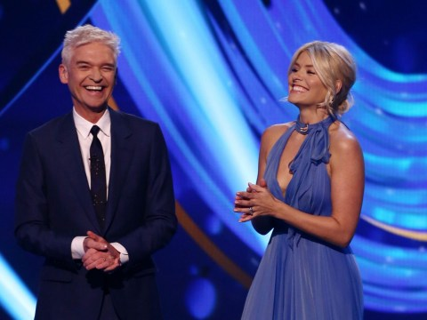 Holly Willoughby reveals she doesn't watch a lot of Dancing On Ice: 'I've got my eyes shut!'