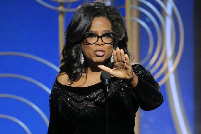 Oprah Winfrey Golden Globes speech